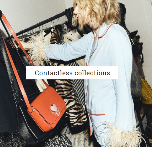We've partnered with DPD to provide contactless collections for your wardrobe items - perfect for those social distancing and self isolating.